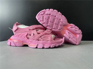 New Exclusive Track Sandal Athletic Designer Shoes Triple Pink Fashion Sport Zapatos Sneakers Good Quality With Box Size36-40