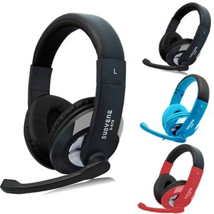 Noise Cancelling Gamer Headset Bass Surround Srereo Jack Headphones With MIcrophone For iPhone  iPad PC MP3 15J Drop Shipping