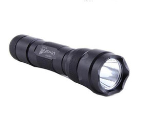 مجانا DHL ، Ultratfire WF-502B Torch 5 Mode 1000 التجويف كري XM-L T6 LED مصباح يدوي 18650 بطارية الشعلة + شاحن + الحافظة