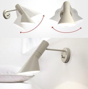 Moda Loft AJ lâmpada de parede Arne Jacobsen Luzes 120 ° Rotation parede luzes montadas Modern Sconce