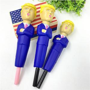 2020 Donald Trump Squishy penna di rimbalzo lento decompressione giocattolo simulato fumetto divertente penne Cap lento aumento Stringere novità regali dei giocattoli