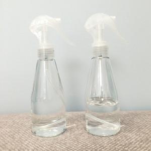 Maquillaje Líquido Paquete Sub botella vacía de plástico PET desinfección desinfectante de la mano fina niebla spray botella transparente de riego Vaso 200ml 1 5yh E19