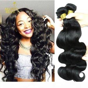 Brazilian Virgin Human Hair Weave Bundles Peruvian Malaysian Indian Cambodian Straight Body Loose Deep Wave Curly Wet And Wavy 8A Mink Hair