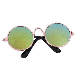 Fashion Small Pet Sunglasses Dog Cat Glasses Grooming Eye-Wear Protection Puppy Cats Glasses Cool Photo Props Funny Pet Products