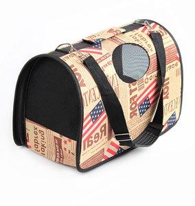 Portable Pet Carrier Cat Dog Travel Cage Bag Outdoor Carrying Handbag Single Shoulder Bag For Small Dog Cat Puppy Kitten