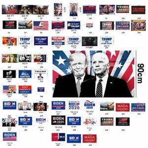 EE.UU. Presidente Bandera Elección Donald Trump, Joe Biden, Presidente Por 2020 Trump Keep America gran presidente de la bandera 90 * 150 cm 55styles RRA3182