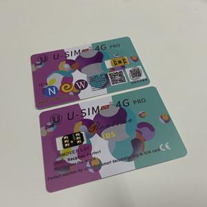 USIM LTE 4G Pro kilidini Sim Kart ile 3M Yapıştırıcı Sticker iPhone 6 6G 7G 8 X XS XR XS Max 11 Pro Max