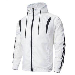 2019 Autumn Fall Winter Mens Womens Casual Sports Jakcets Sport Jacket High Patchwork Tops Windbreakers Casual Windbreaker L-4XL B100114Q