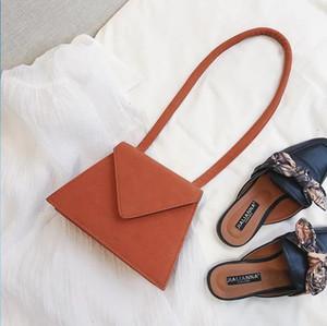Crossbody bag handbag shoulder bag abrasive leather fashion retro small square bag joker designers hot item Size:16*22
