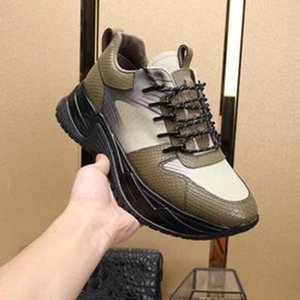 Europe New fashion Run Away Casual shoes Pulse sneaker for man women black real leather designer shoes top quality brand sneakers nk7