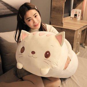 85cm Big Soft Animal Pillow Sweet Dinosaur Pig Cat Bear Panda Hamster Elephant Plush Toys Stuffed Doll Baby Sleep Pillow Gift