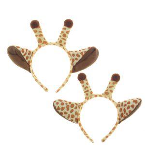 Плюшевый жираф волос Палочки Halloween Cosplay оголовье одевалки Head Accessores для взрослых детей XD21714