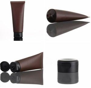 100mL svuotare cosmetico opaco Tubo di campionamento trucco squeeze Packaging Contenitori lozione facciale bottiglia Cleanser Shampoo Crema KKA7929