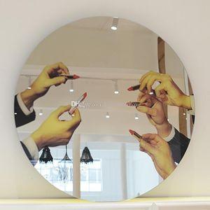 Modern ev salonu ruj aynalar moda Yaratıcı yuvarlak aynalar makyaj aynası Nordic soyunma ayna duvar ayna Kozmetik duvar Deko ...