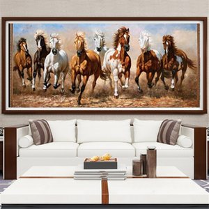 al por mayor de caballo diamante Pintura 5d granja Decoración Mosaico animal Diamond Full Art Taladro Regalo hecho a mano
