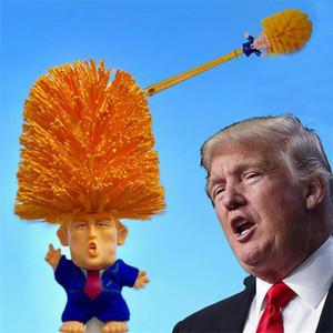 Kreative Trump Toilet Bush Home Kunststoff Wc Reinigungswerkzeug Liefert Lustige Griff Pinsel Heißer Verkauf Werkzeuge