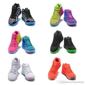 Children Basketball Shoes 2019 High Quality 4 4s Confetti Color kids Sports shoes Youth big boys girls basketball Sneakers Size 36-40