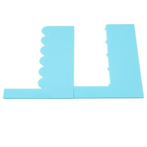 Plastic Dough Knife Icing Fondant Scraper Baking Pastry Tools Jagged Edge Plain Smooth Cake Paddle Cake Spatulas