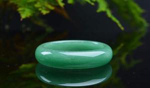 Natural Aventurina jade Pulseira A largura é de cerca de 15mm-22mm, o diâmetro de 54mm-64mm Frete grátis