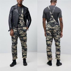 Camouflage Imprimé Casual Mens Designer Pants Street Style cool Pantalon droit desserrées Mode Hommes Pantalons Cargo