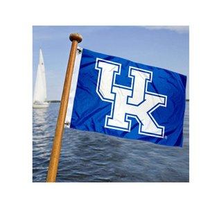 3x5ft 3Kentucky-Wildkatzen-UK Flaggen und Banner, Promotion kundenspezifische 150x90cm NCAA-Flaggen, Digital gedruckte Polyester Werbung, freies Verschiffen