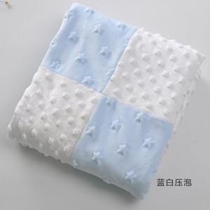 Baby Floral New Soft Komfortable Swaddle Decke Jungen Mädchen Nette Glatte Korallen Samt Schlafen Wrap Decke