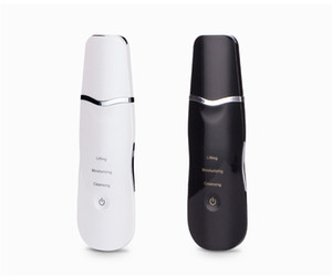 High Quality Ultrasonic Face Cleaning Skin Scrubber Cleanser Facial Lifting Therapy Peeling SPA Ultrasound Peeling Cleasing Machine