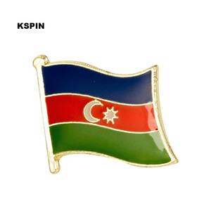 Azerbaijan Flag Bavero Spilla Badge Distintivo Spilla Badge Spilla KS0008