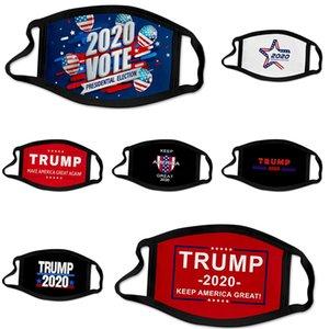 Mode Luxe Masque Visage Lettre Imprimer Masque Masques respirant unisexe réutilisable Lavable randonnée à vélo Designer Trump Face Mask # 617