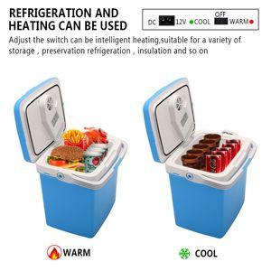 ZOKOP 26L Electric Cooler Warmer Car Home Plug Portable Mini Fridge Ice Crusher Ship From USA