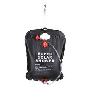 10L 2.5 Gallon Solar Energy Heated Camp Shower Bag PVC Water Bag Outdoor Camping Travel Hiking Climbing BBQ Picnic Water Storage