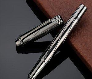 Deli metal finder pen s668ef office business signing pen 0.5 0.7mm student practice pen