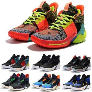 2019 warum nicht basketball Schuhe Männer 0.2 Turnschuhe Russell Westbrook II zer0. 2 Turnschuhe null 2 original Trainer us Größe 7-12