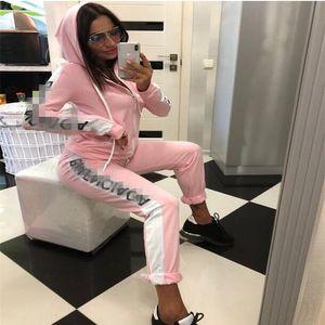 Designers Tracksuit women Luxury Sweat Suits Autumn Brand womens Print Tracksuits Jogger Suits Jacket +Pants Sets Sporting Suit