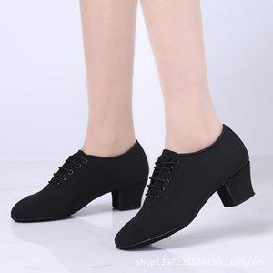 Tissu Oxford Deux Bas. Chaussures. Connaissements Chaussures standard national. Pratique Salle de bal de danse Chaussures de danse Chaussures