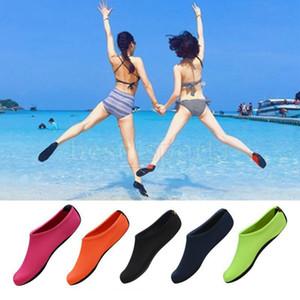 Esportes Aquáticos Mergulho Socks 5 cores Natação Snorkeling antiderrapante Mar Praia sapatos respirável Surfing Meias OOA5248