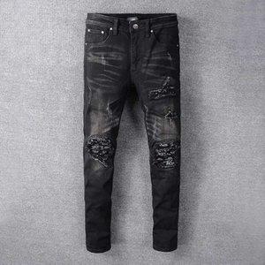 2020 Moda Marka Tasarımı Yaz Erkek Denim Skinny Coolguy Jean Nakış Pantolon Delikler Denim Jeans Düğme Erkek Uzun Kot Pantolon