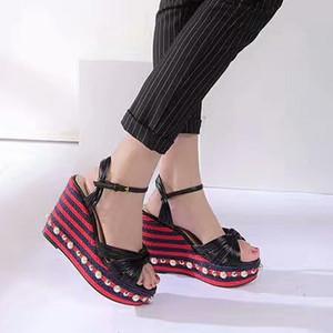 Spring Summer 2020 High Quality Fashion Fashion Ladies Classic High-heel Sandals