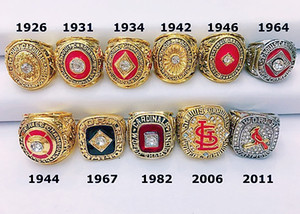 Сент-Луис 1926 -2011Cardinals World Series Championship Ring Christmas Fan Мужчины подарки оптовые 2018 2019 перевозки груза падения
