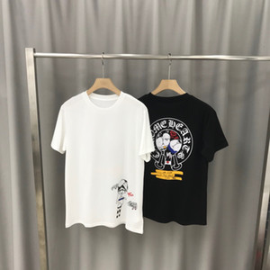 T-shirt men's short sleeve ins trend loose fashion brand summer cotton T-shirt half sleeve bottoming shirt men's spring&015