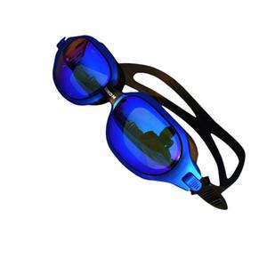 Large Frame Swimming Goggles Waterproof Glasses Anti-fog HD Plating Snorkel Diving Silicone Eyewear