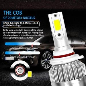 Nuovo 1Pcs C6 faro dell'automobile 12V 7600LM 6000k H4 H7 9003 H11 LED H1 H3 880