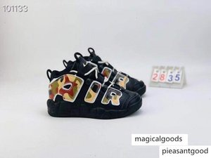 Box Unisex Kids Boys Girls Uptempo 96 QS Olympic UK France Basketball 3M Scottie Pippen Mens Trainers Sports Shoe Size 11C-3Y