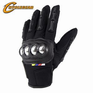 Cyclegear nova chegada dedo cheio de moto ciclismo luvas touch screen moto equitação luvas anti-queda motocross guantes CG667
