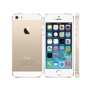 """Refurbished Apple iPhone 5S Without Fingerprint Unlocked Cell Phone 64GB 32GB 16GB iOS 8 4.0"""" IPS HD A7 8MP"""