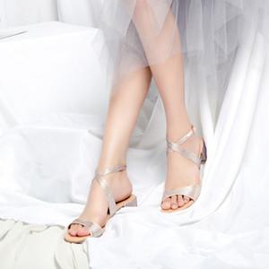 Lovely2019 Autre Femme Pantoufle Vêtements Toe Summer Crossing Apportez Ban Tuo Strass Grossier Avec Des Sandales Chaussures Femmes