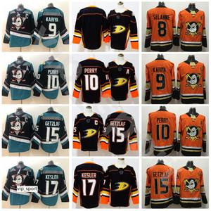 Anaheim Ducks 10 Corey Perry 15 Ryan Getzlaf Jersey Stadium Series Black Teal Alternate 17 Ryan Kesler 8 Teemu Selanne 9 Paul Kariya