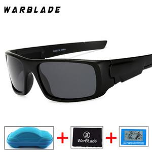 2018 New óculos polarizados Homens Marca Designer Sun Óculos para a segurança Masculino Óculos de Pesca UV400 Gafa com caixa