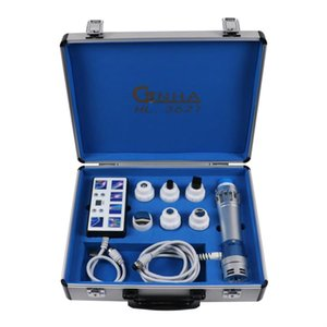 Portable Physiotherapy Ultrasound Shockwave Physical Therapy Machine Therapeutic Ultrasound For Body Pain Relief With Two Handles