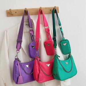 P casa tre-in-un sacchetto di nylon Kendou stesso stile HOBO sacchetto chain spalla larga tracolla ascella tracolla borsa crossbody raccoglitore